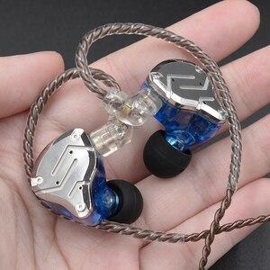 Image 3 - KZ ZS10 PRO 1DD+4BA HIFI Metal Headset Hybrid In Ear Earphone Sport Noise Cancelling Headset AS10 ZSN PRO CA16 ZSX C12 V90 VX T4