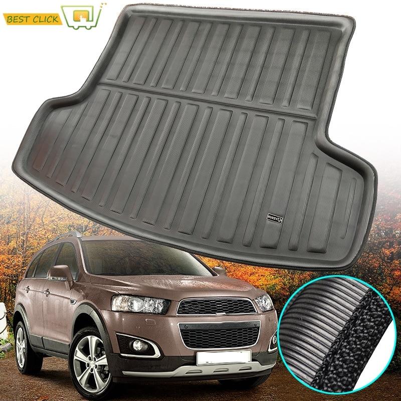 For Chevrolet    Holden Captiva 2006 - 2017 Cargo Floor Mat Rear Trunk Tray Boot Liner Carpet 2008 2009 2010 2011 2012 13 14 15