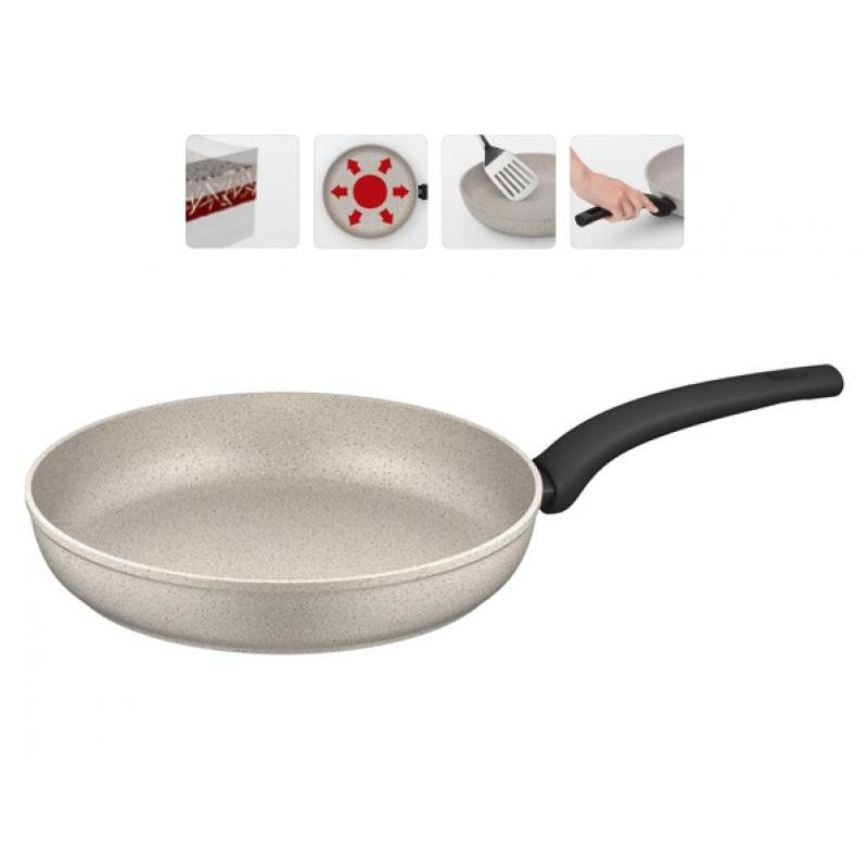 Frying Pan NADOBA, Marmia, 28 cm frying pan griddle nadoba grana 28 cm
