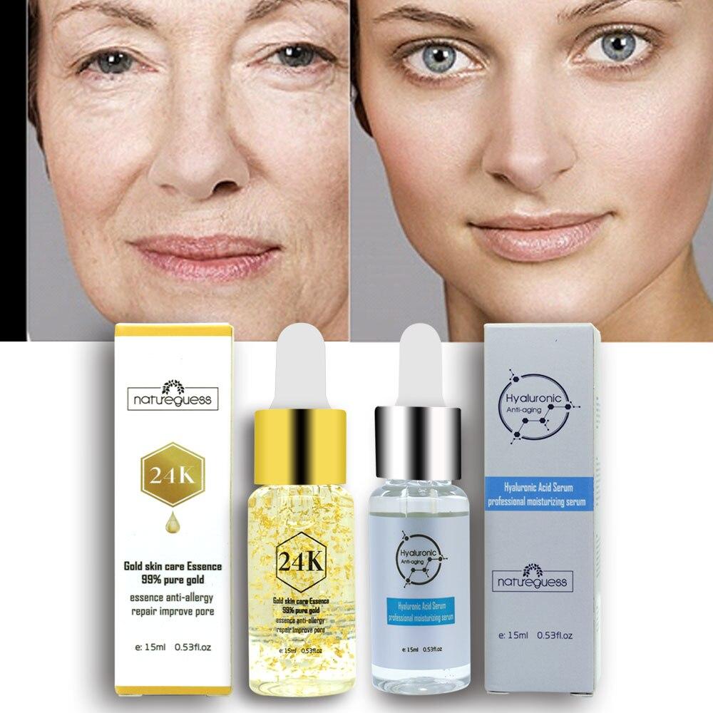 15ml Hyaluronic Acid Serum Moisturizing Acne Treatment Blackhead Removing Whitening Anti-Aging Winkles Repair Face Skin Care