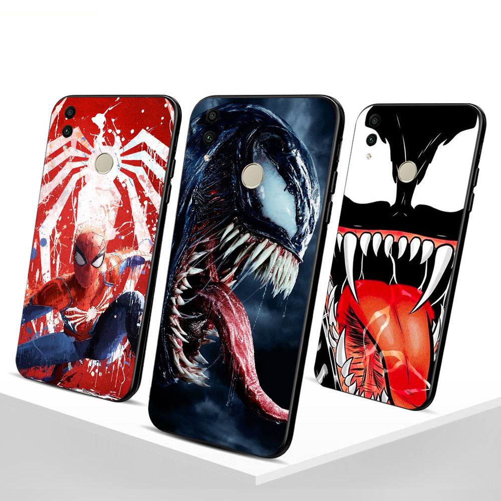 Venom Funda For Huawei Honor 10 lite case for 9 8X 6X Phone cover 8 Shell