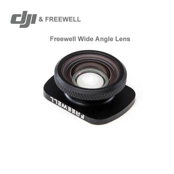 Obiektyw szerokokątny DJI Freewell 18mm do kieszeni DJI Osmo rozszerzone pole widzenia w magazynie oryginał tanie i dobre opinie Stałej ogniskowej obiektywu Kamery 2 4 g Freewell Wide Angle Lens osmo pocket