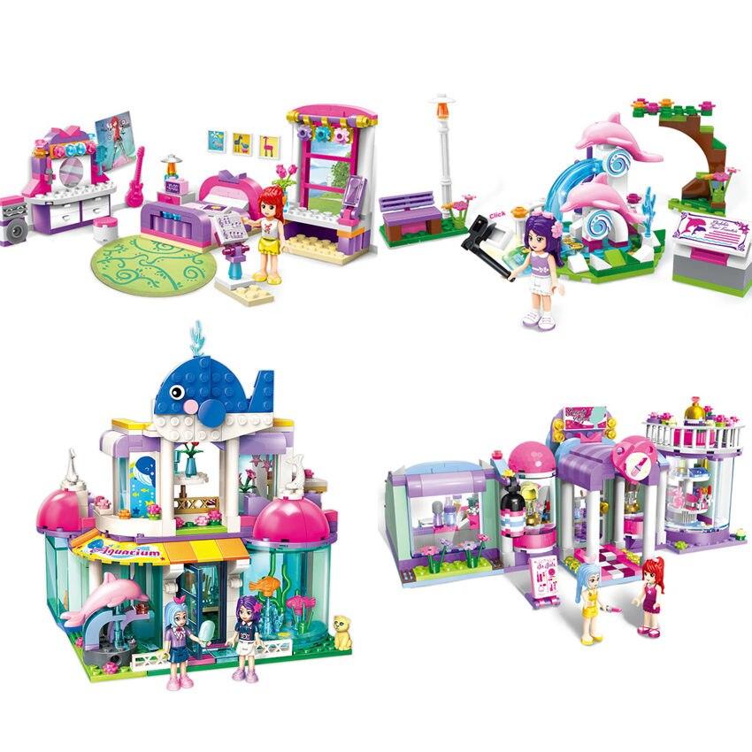 Хит продаж, брендовые городские друзья, Lepinblocks, серия Cherry, строительные блоки, кирпич, техника, Playmobil, подарки, игрушки для детей|Блочные конструкторы|   | АлиЭкспресс