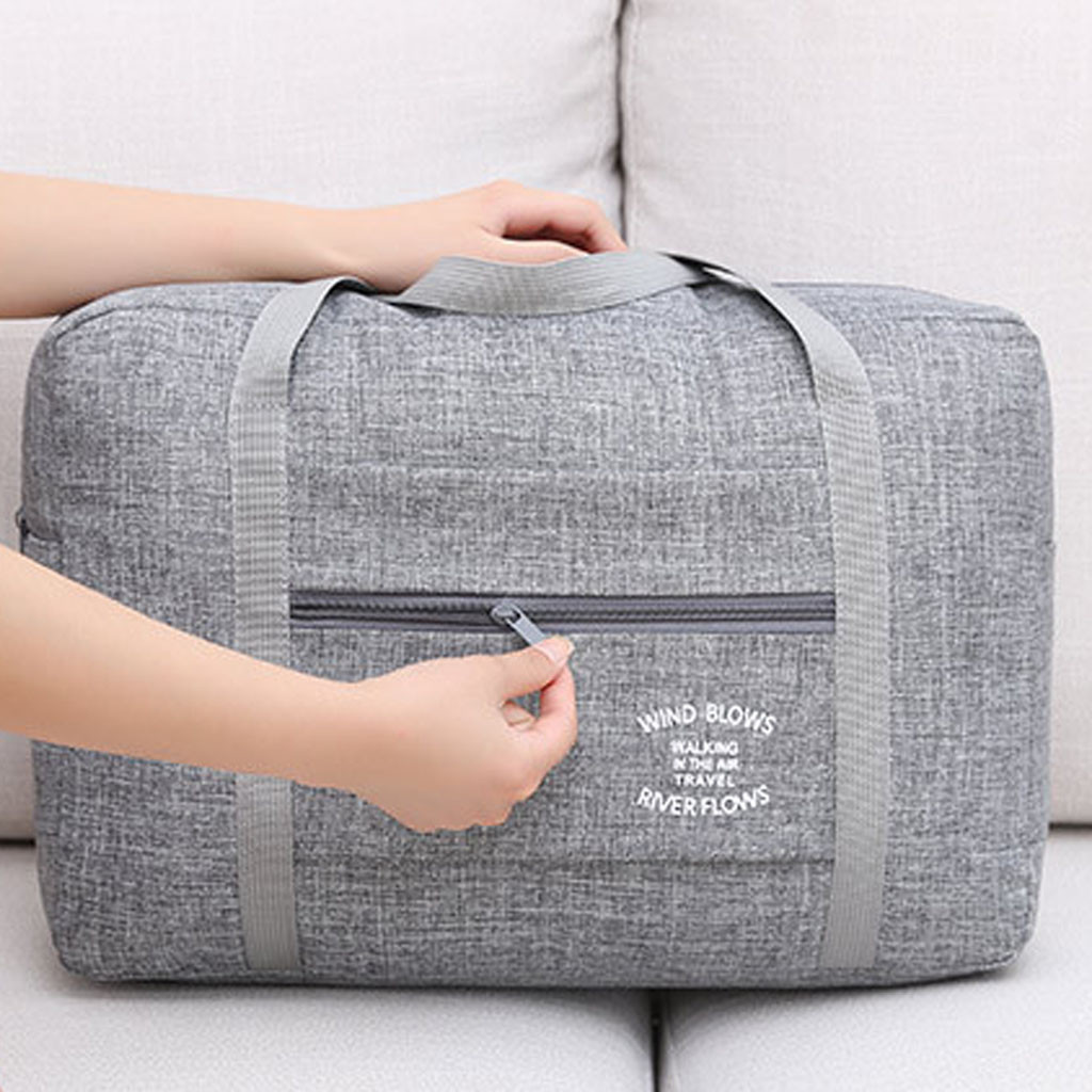 Waterproof Nylon Travel Bags Women Men Large Capacity Folding Duffle Bag Organizer Packing Cubes Luggage Girl Weekend Bag Bolsas
