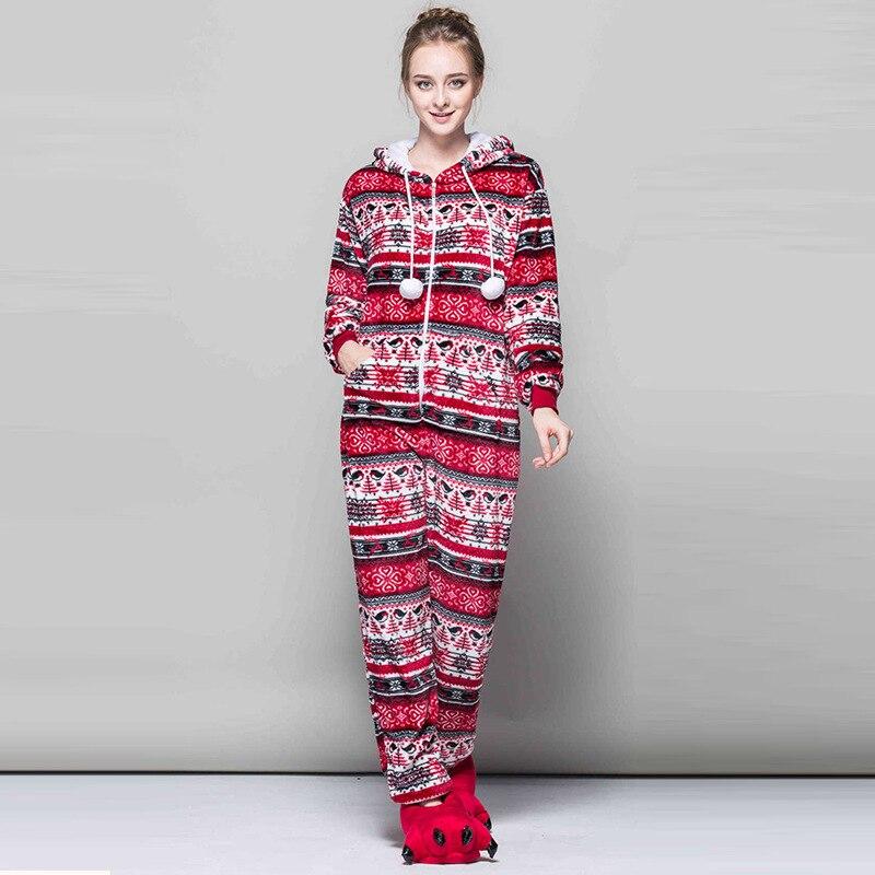 Kigurumi Long Sleeve Hooded Onsie Flannel Warm Onesies For Adults Whole One Piece Animal Pajamas Kugurumi Sleepwear
