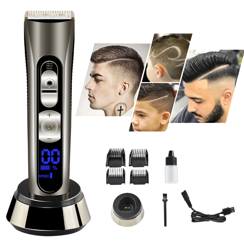 Professional Cordless Beard Disassembly Group, Lithium Battery Charging Combing Set, Suitable for Valentine's Day Gifts