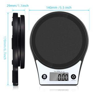Image 5 - AIRMSEN ev mutfak terazisi elektronik gıda ölçeği pişirme ölçeği ölçme aracı LCD ekran yüksek hassasiyetli