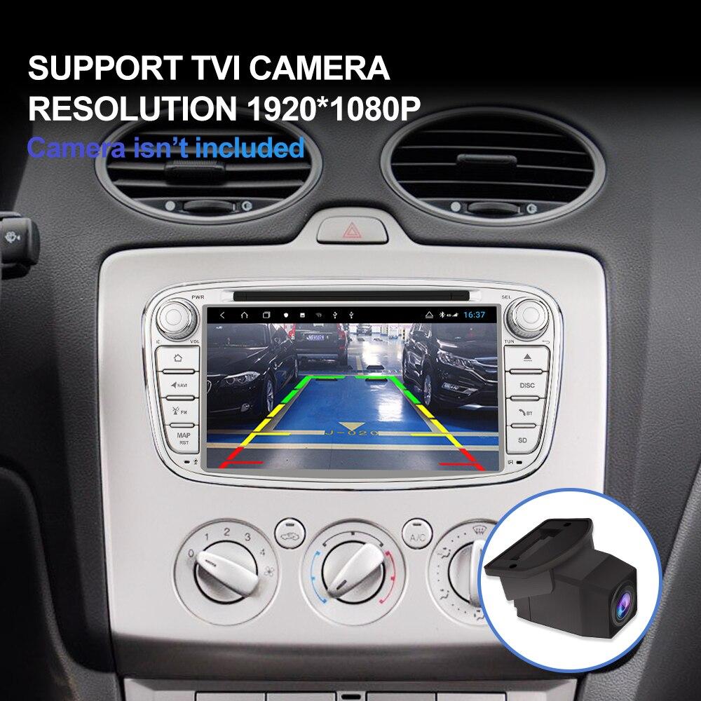 Image 3 - Isudar H53 Android 2 Din Авторадио для FORD/Focus/Mondeo/S MAX/C MAX/Galaxy Автомобильный мультимедийный плеер GPS 8 ядер RAM 4G 64GB DSP DVRМультимедиаплеер для авто    АлиЭкспресс