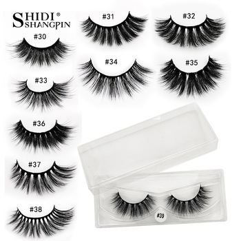 10 pcs Wholesale Eyelashes Bulk Mink Lashes Natural False Eyelashes Wholesale Lashes 15-20mm False Eyelashes Fake Lashes Makeup