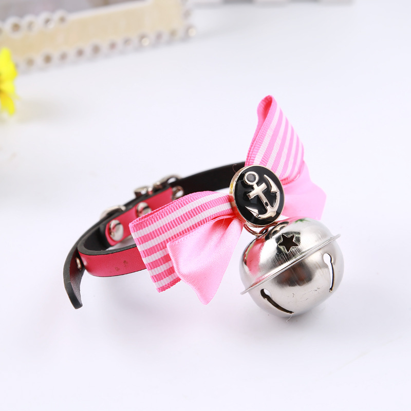Direct Selling Pet Collar Dog Cute Bowtie Multi-color Pet Necklace Pet Bell Accessories Universal A Generation Of Fat