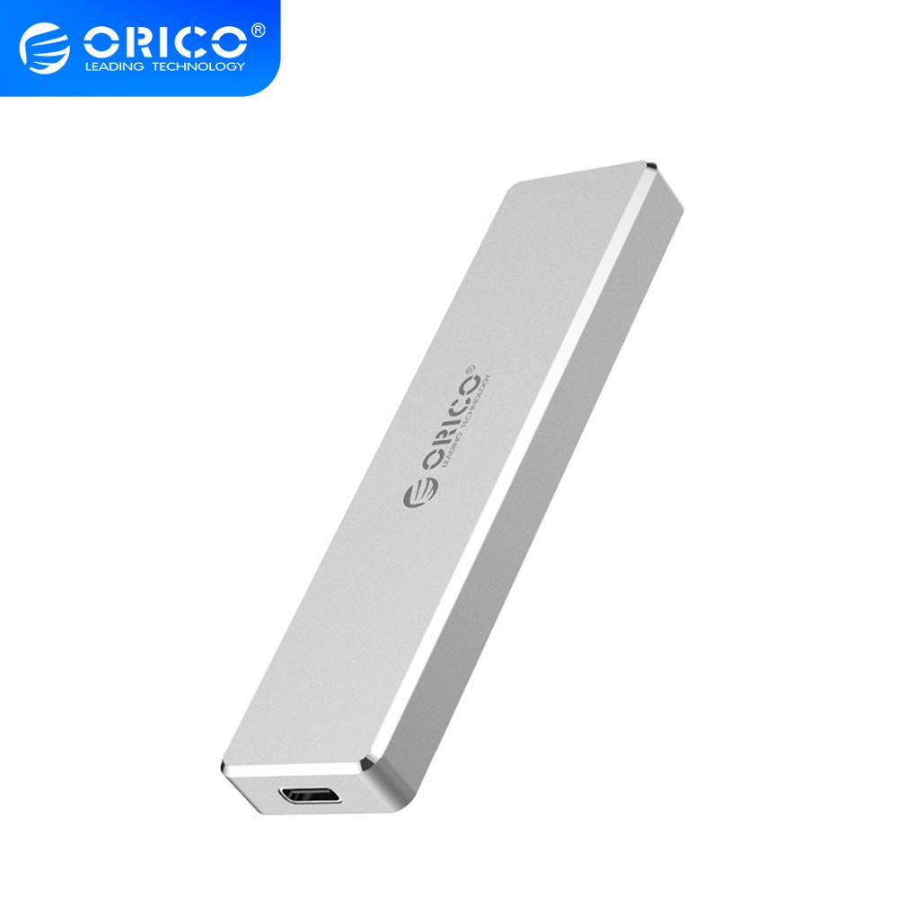 ORICO M2 SSD Case NVME USB C 10Gbps Support UASP USB3 1 Gen2 Type-C M 2 SSD Enclosure for NVME PCIE NGFF SATA M B Key SSD Disk