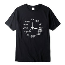 Camiseta informal de manga corta para hombre, Camiseta con estampado de diseño creativo divertido, Camiseta de cuello redondo de punto de tela cómoda, 100% algodón
