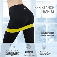 Новые фитнес Йога эластичные ленты фитнес аксессуары ремешки Йога латексный эспандер петля эспандер тренировка