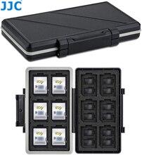 JJC 36 слотов для карт чехол для держателя карты памяти для хранения Коробка органайзер для детей возрастом от 12 SD SDHC/SDXC + 24 MSD Micro SD TF Чехол-портм...