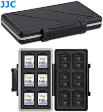 JJC 36 Slots Memory Card Case Holder Storage Box Organizer for 12 SD SDHC SDXC + 24 MSD Micro SD TF Card Wallet Keeper Protector