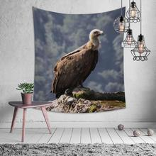Natural Animal Fox Lion Eagle Tapestry Hippie Mandala Wall Hanging Bedroom Polyester Travel Camping Psychedelic Tablecloth natural animal deer flamingo tapestry hippie mandala wall hanging bedroom polyester travel camping psychedelic tablecloth