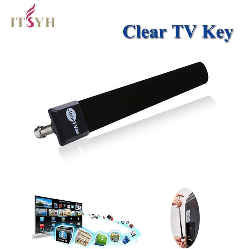 ITSYH Antenne <font><b>Tv</b></font> <font><b>digital</b></font> Hqclear Indoor <font><b>Tv</b></font> Antenne Verstärker Antenne <font><b>Tv</b></font> Kabel JD-005 image