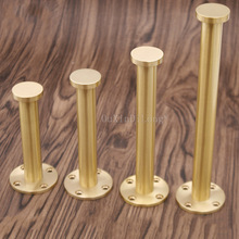 4PCS Height 11CM/13CM/16CM/21CM Adjustable Furniture Legs Copper Furniture Feet Cabinet Table Sofa Feet GF20