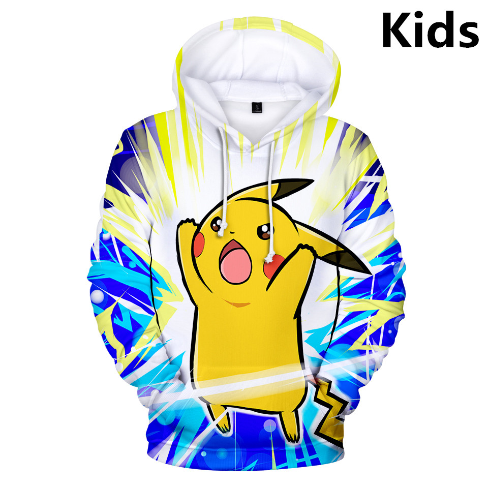 Youth Unisex Girls Boys Crewneck Sweatshirt The Legend Of Zelda Pikachu Pokemon