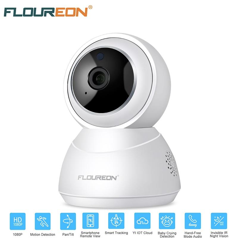 FLOUREON HD 1080P Wireless Wifi IP Camera CCTV Network Baby Pet Monitor Pan Tilt