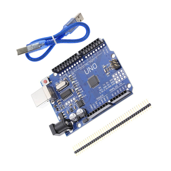 High quality One set UNO R3 CH340G+MEGA328P Chip 16Mhz For Arduino UNO R3 Development board + USB CABLE uno r3 development board atmega328p ch340g for arduino uno r3 with usb cable pin header acrylic case