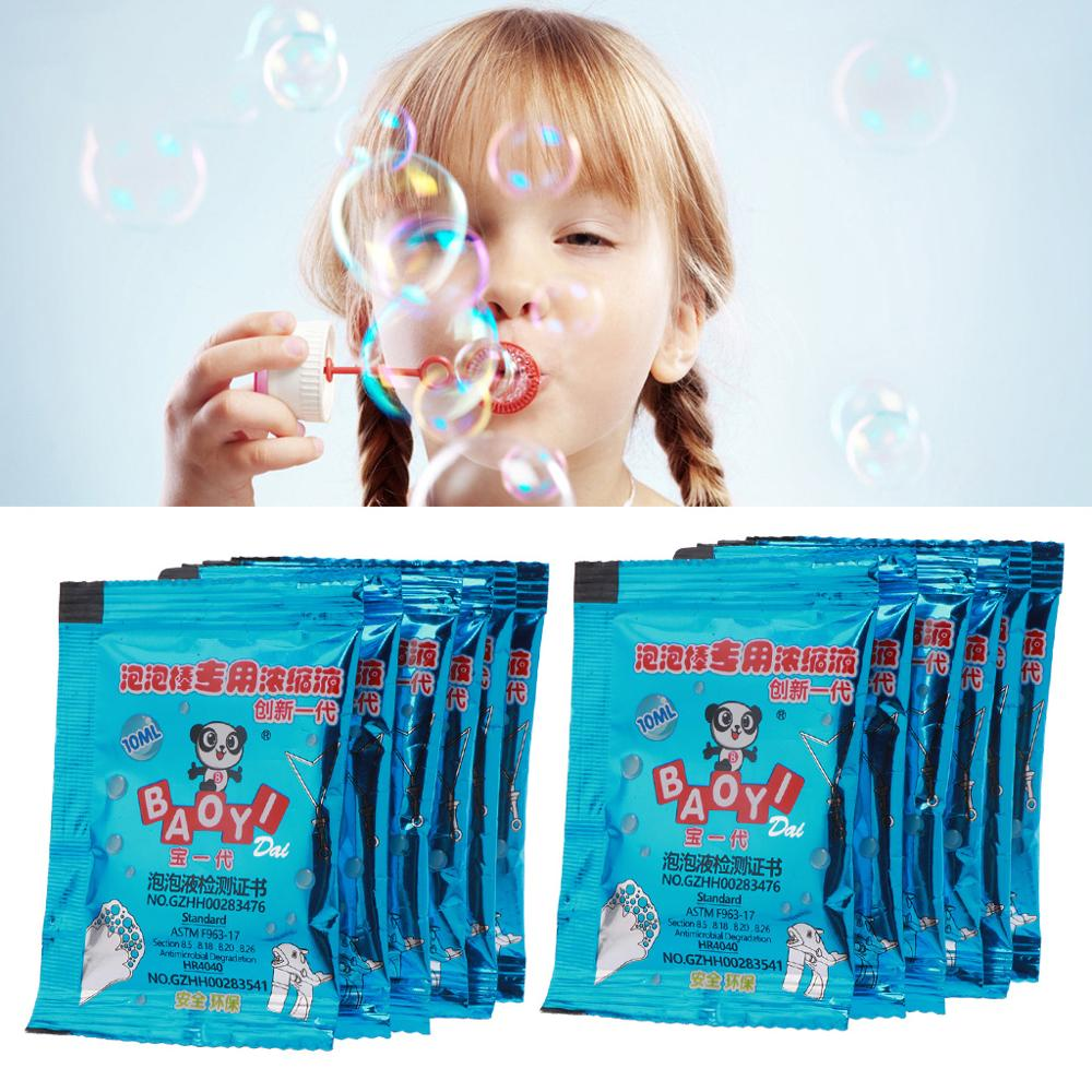 New 100ml Concentrate Bubbles Liquid Soap Water Bubble Gun Accessories