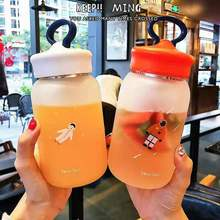 YRPBest selling Christmas gift high quality starry sky cup glass water bottle Outdoor beverage juice portable sport