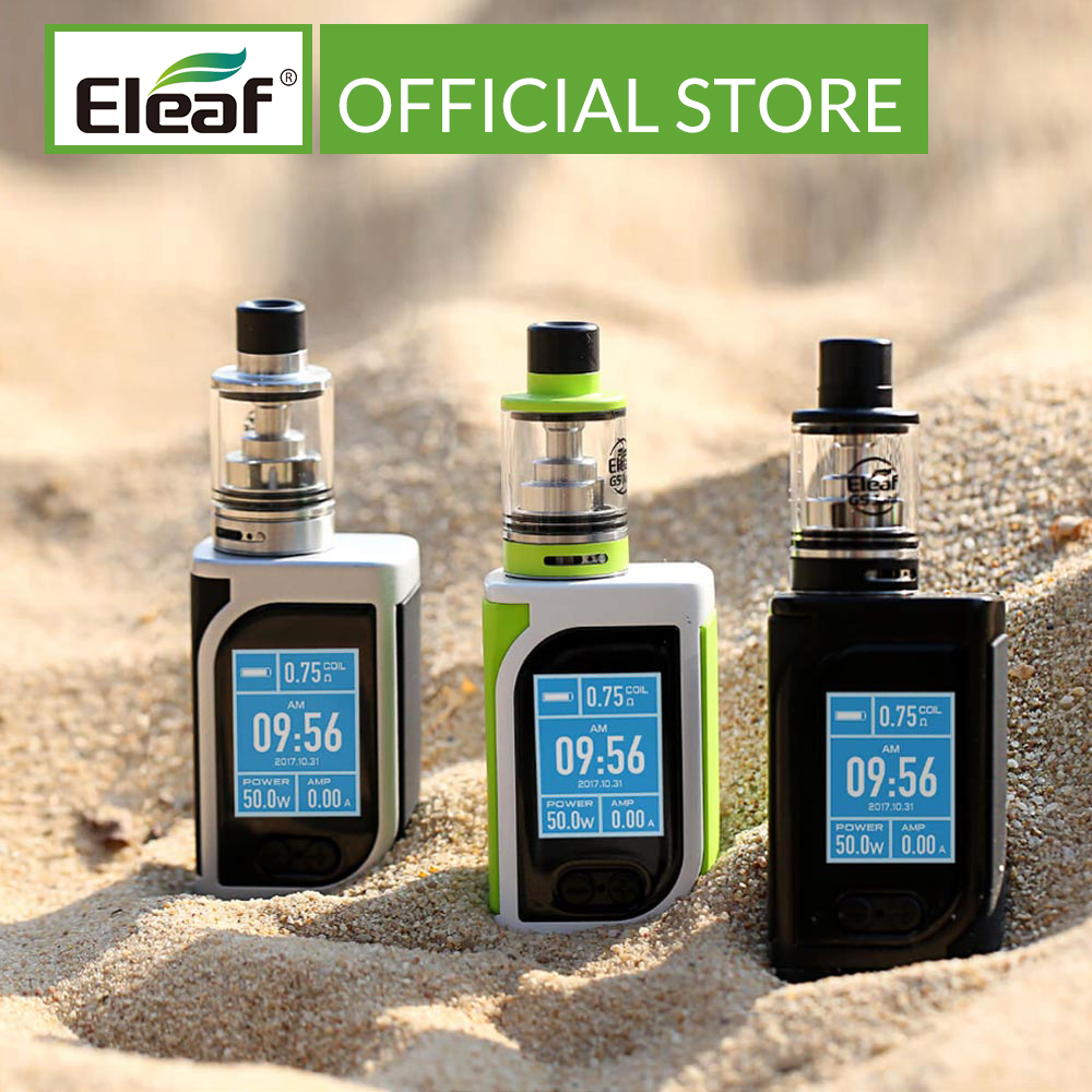 [RU/ES] Original Eleaf IStick Kiya Kit With GS Juni Built In 1600mAh VS IStick Tria 0.75/1.5ohm GS Air Coil Electronic Cigarette