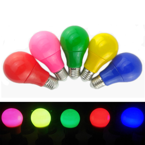 Colorful LED Bulb Lamp 5W 7W 9