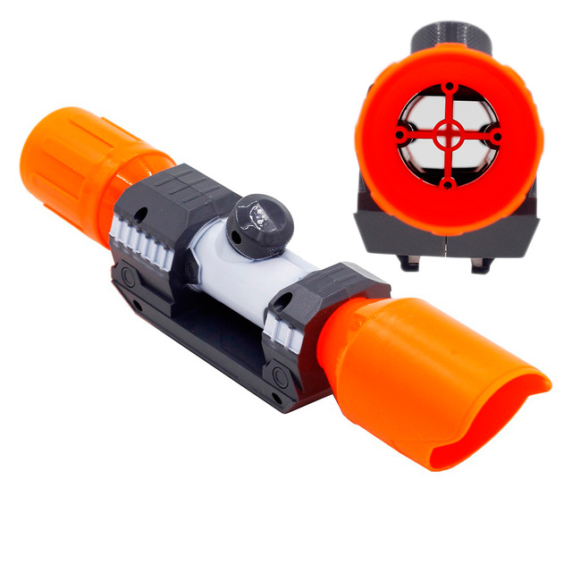 Soft bullet Gun Sight Universal Accessories For Nerf Compatible Soft Bullet Assembly Parts Tube Sighting Device for Nerf Elite