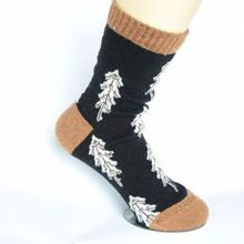 Women Autumn Winter Christmas Socks Cotton Girls Cartoon Cute Thick Short Sock