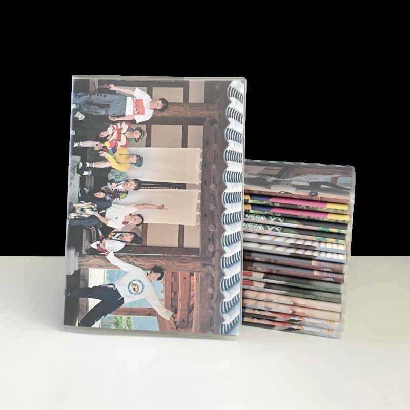 Kpop Bangtan בני 2019 קיץ אלבום תמונה כריכה קשה כיסוי מחברת יומן DIY פנקס bangtan בני kpop אספקת חדש כניסות