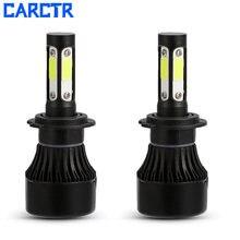 Автомобисветильник фары carctr h4 светодиодные лампы 38 Вт 9004