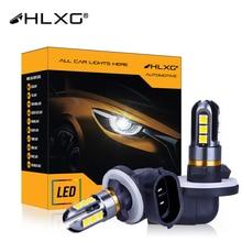 H27 880 881 светодиодная противотуманная лампа лм 27 Вт H27W/1 H27W/2 Лампа для автомобильных фар белая Автомобильная фара автомобильные аксессуары ла...
