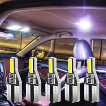 10 sztuk T10 W5W żarówka Led samochodowa Auto oświetlenie wnętrza Led dla Seat ibiza 6j 6l fr Ateca Altea xl leon 2 ateca fr ibiza Alhambra tanie tanio CN (pochodzenie) Oświetlenie wewnętrzne 120LM T10 (W5W 194) 12 v WHITE about 15 g Uniwersalny W5W LED Bulb T10 interior reading doom light trunk lamp glove light car door light