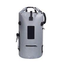40L Wasserdicht Tauchen Tasche Drybags Folding Eimer Angeln Camping Waschbecken Tasche für Boot Kajak Ausrüstung Wasserdicht Ozean Pack