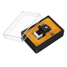 tocadiscos Магнитный картридж стилус с LP виниловой иглой для записьной проигрыватель, проигрыватель высокого качества