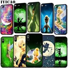 IYICAO Peter Pan Wendy Tinkerbell Tinker bell suave caso de Huawei P30 P20 Pro P10 P9 Lite 2017 Mini 2016 P Smart Z Plus 2019