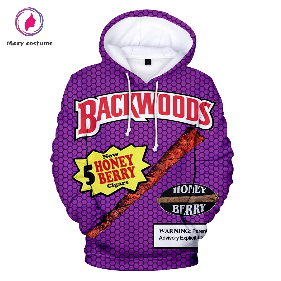 Backwoods Hoodie Hot Men Fashion Polyester Casual Hooded Sweatshirt 2019 New Trend Casual Harajuku Streetwear
