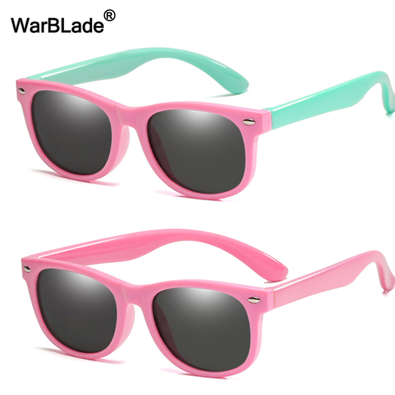 Cute Children Polarized Sunglasses TR90 Boys Girls Kids Sun Glasses Silicone Safety Glasses Gift For Baby UV400 Eyewear Oculos