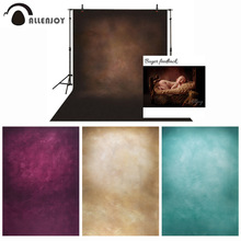 Allenjoy photography backdrops solid color vinyl old master dark brown photographic background photo studio wedding photocall