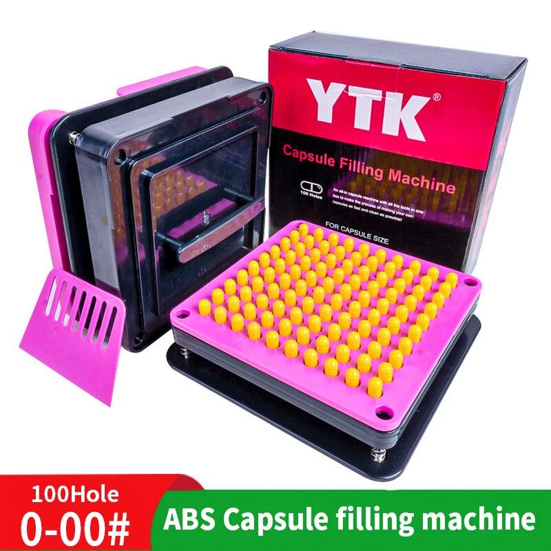 00 #100 agujero Máquina manual de llenado de cápsulas máquina de llenado de cápsulas 0 fabricantes de polvo máquina de llenado de drogas
