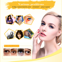 US 20Packs 24K Gold Crystal Collagen Eye Mask Patch Pad Moisturizing Anti Aging Puffiness Dark Circle Remover Eye Bags Skin Care 3