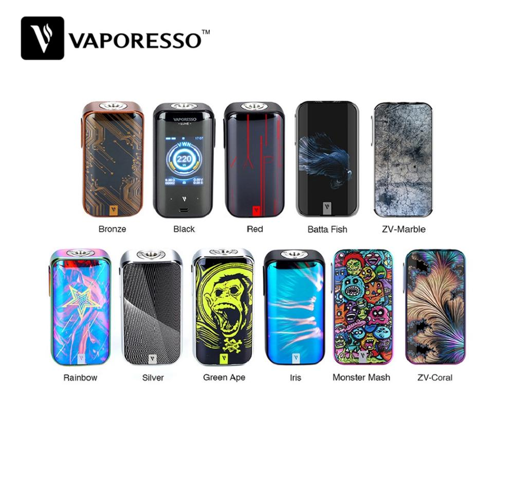 Original Vaporesso Luxe 220W Touch Screen TC MOD with 2 0 Inch Touch Screen OMINI Board
