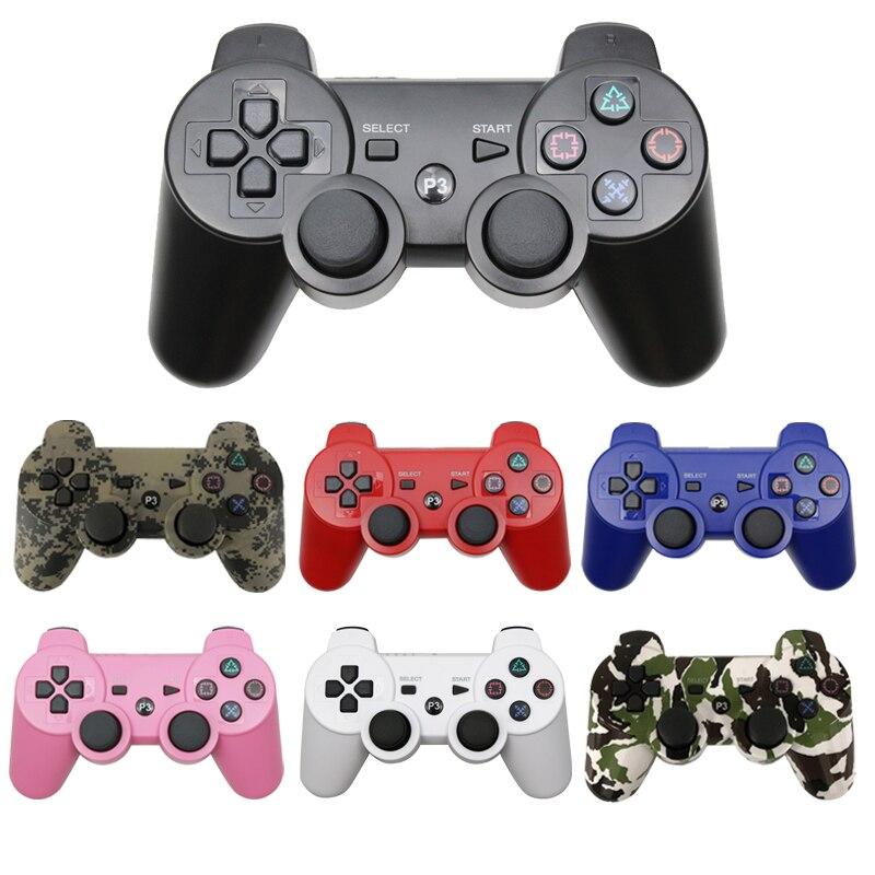لسوني PS3 تحكم بلوتوث لوحة ألعاب لاسلكية لمحطة اللعب 3 عصا التحكم وحدة التحكم ل Dualshock 3 ستة محور تحكم للكمبيوتر|gamepad for sony|dual gamepadjoystick joysticks - AliExpress