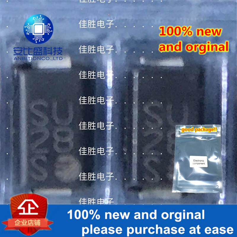50pcs 100% New And Orginal P4SMA62C 62V DO214AC Silk-screen SU Two Way Transient In Stock