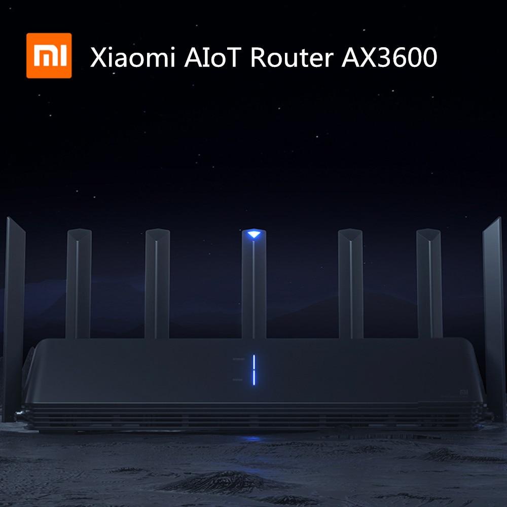 NEW Xiaomi AX3600 AIoT Router Wifi 6 5G Wifi6 600Mb Dual-Band 2976Mbs Gigabit Rate Qualcomm A53 CPU External 5G Signal Amplifier(China)