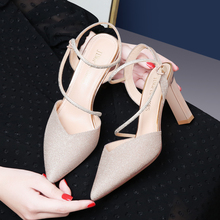Shoes Woman MOOLECOLE Pointed Toe Sexy Women Pumps High Heels Crystal Women Shoes Thin Heels Women Dress Shoes Sandals 2-9584 shoes woman moolecole crystal women pumps thin heels pointed toe women shoes sexy office