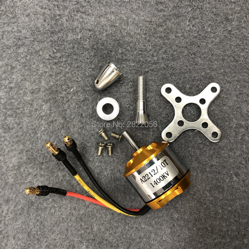 1pcs A2212 Brushless Motor 930KV 1000KV 1400KV 2200KV 2450KV 2700KV For RC Aircraft Plane Multi-copter Brushless Outrunner Motor