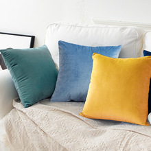 30cm50cm Nordic Pillow Square Cushion Without pillow Sofa Pillow Living Room Rectangular Back Cushion Velvet Pillow Case Suede conch painting pattern square shape pillow case(without pillow inner)
